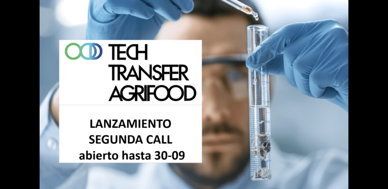 News image Video 2ª Convocatoria Tech Transfer Agrifood 2020