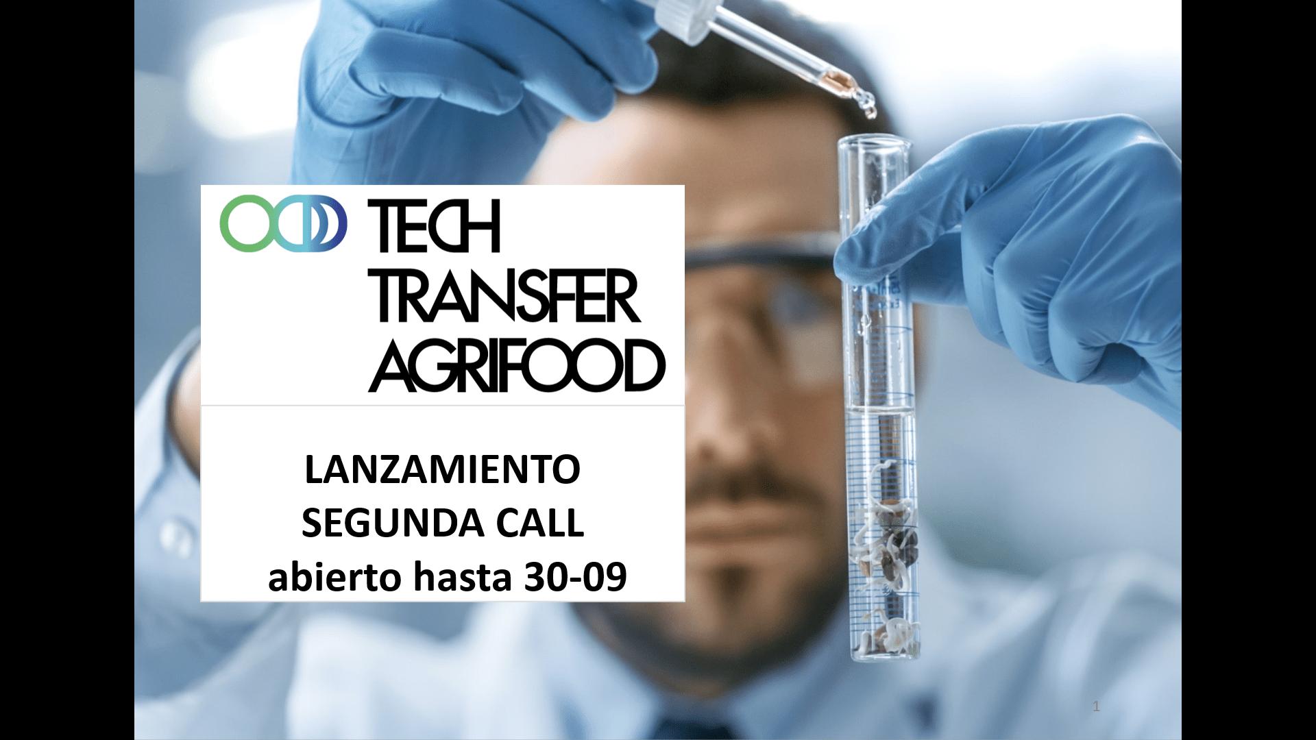 News image Video 2ª Convocatoria Tech Transfer Agrifood 2020
